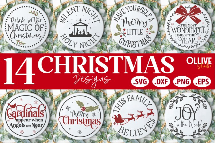 Plates, wood signs, wall decals, gifts download christmas wreath svg. Christmas Door Signs Bundle Christmas Svg 1500565 Cut Files Design Bundles