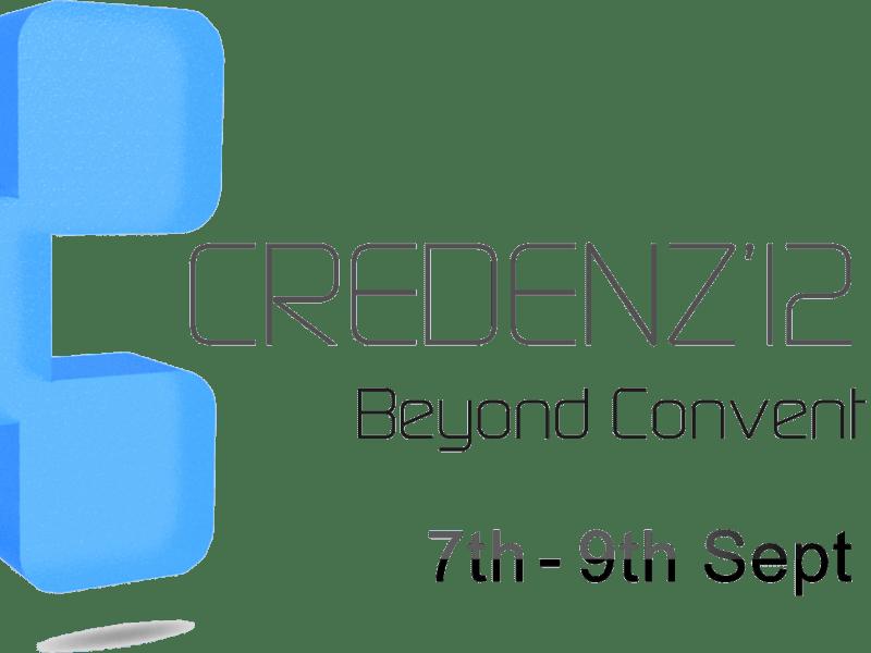 Credenz 12 - Technical Fest from September 7-9
