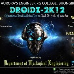 Droidz 2012 – National Level Tech Fest in Hyderabad on October 3-4, 2012
