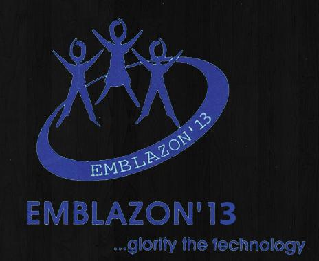 Emblazon 2013 - Technical Festival for ECE Branch in JNTUHCE, Karimnagar from April 2-3, 2013