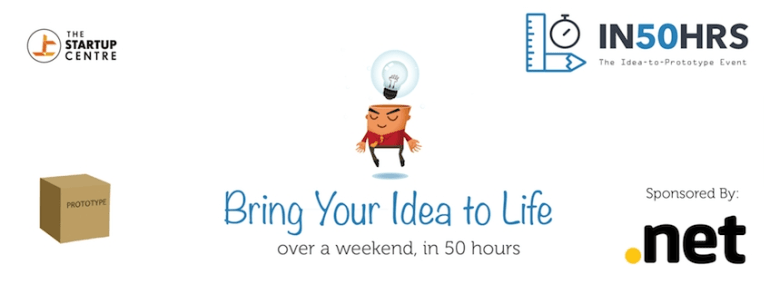 IN50HRS - Idea to Prototype - Build Your Idea Over a Weekend Happening All Over India