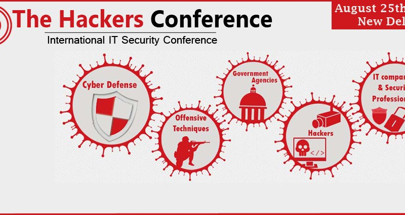 The Hackers International IT Security Conference 2013 in New Delhi on August 25, 2013
