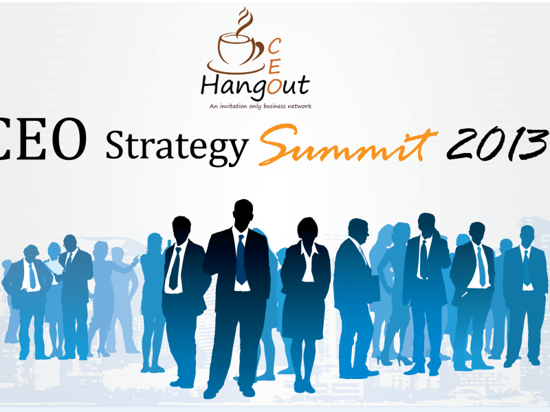 CEO Strategy Summit 2013 in Bangalore on August 23, 2013