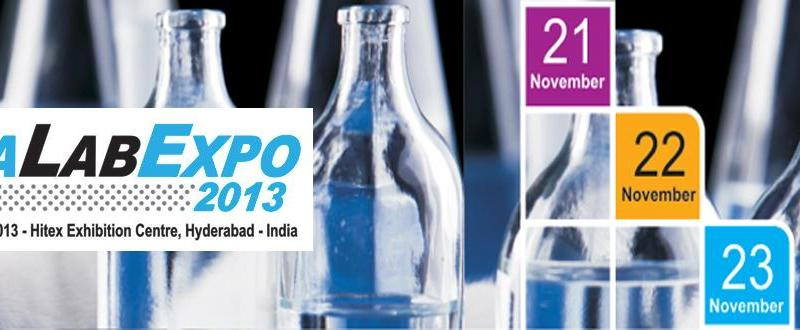 India Lab Expo 2013 - Exhibition and Conference in Hyderabad from November 21-23, 2013