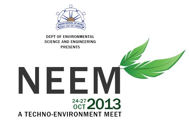 National Environmental Engineers Meet in ISM Dhanbad from October 24-27, 2013