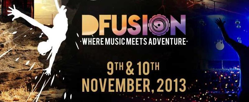 DFusion - Where Music Meets Adventure in Mumbai from November 9-10, 2013
