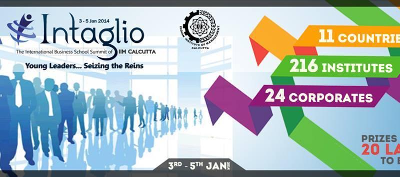 Intaglio 2014 - International Business School Summit in Kolkata from January 3-5, 2014