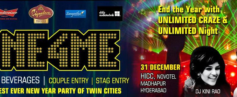 One 4 Me - New Year 2014 Eve at HICC in Hyderabad on December 31, 2013