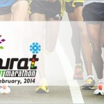 Surat Night Marathon 2014 in Gujarat on February 23, 2014