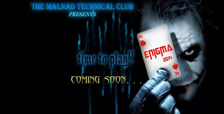 ENIGMA 2014 - Technical Festival in Karnataka from April 11-14, 2014