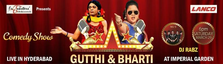 Comedy Evening in Hyderabad on March 29, 2014