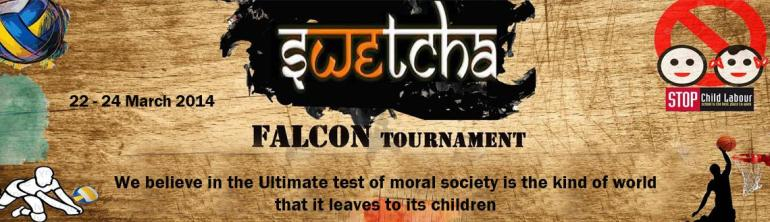 Swetcha Falcon Tournment in Hyderabad from March 22-24, 2014