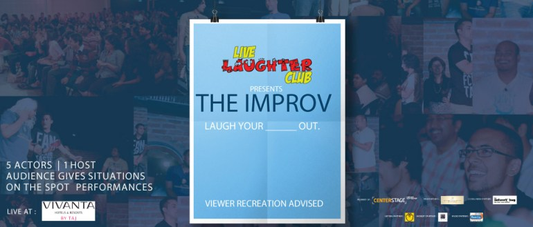 The IMPROV by Center Stage in Hyderabad on September 5, 2014