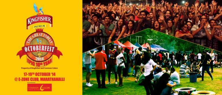 The Great Indian October Fest 2014 in Bangalore from October 17-19, 2014