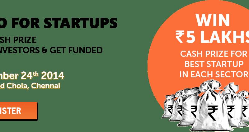 CII Startupreneurs Expo in Chennai on November 24, 2014