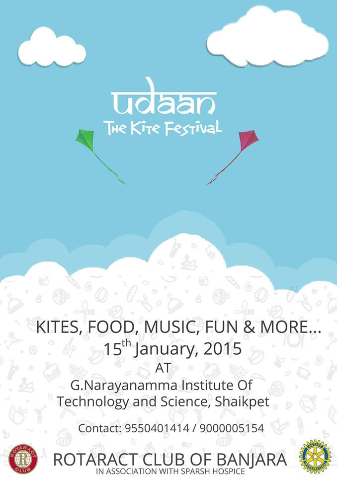 Udaan - The Kite Festival in Hyderabad on January 15, 2015
