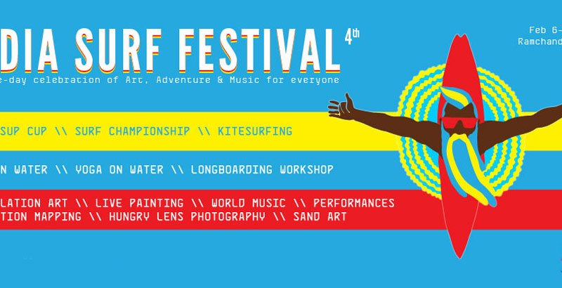 India Surf Festival 2015 in Orissa from February 6-8, 2015