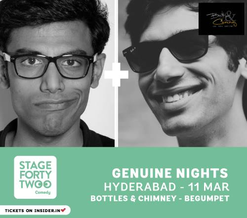 Stand up Comedy with Kanan Gill & Biswa Kalyan Rath in Hyderabad on March 11, 2015