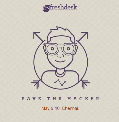 Save the Hacker - Hackathon in Chennai from May 9-10, 2015