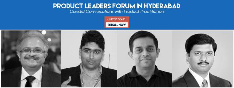 Product Leaders Forum Hyderabad 2015 - Conference on October 30, 2015