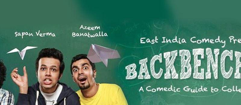 Backbenchers - Standup Comedy in Mumbai on November 28, 2015