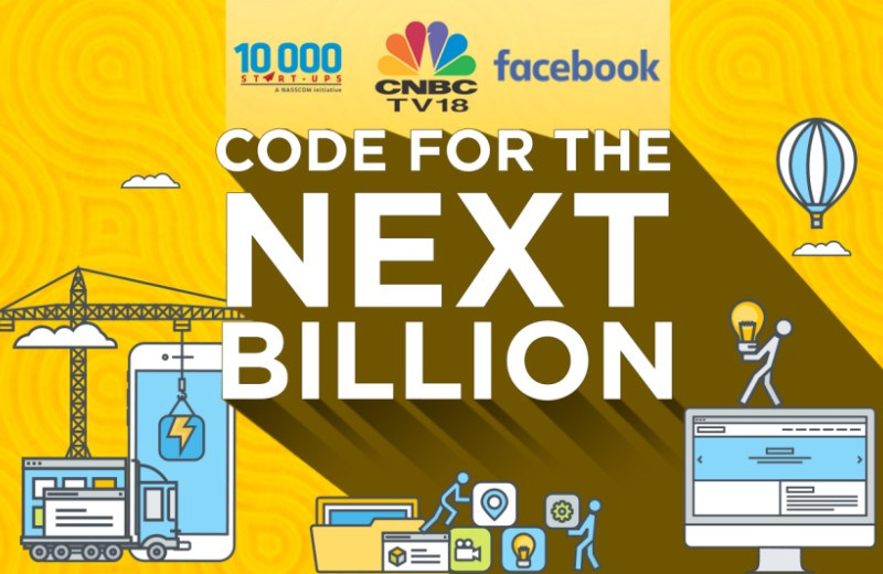 Code For Next Billion by Facebook, Nasscom and CNBC for Developers in India