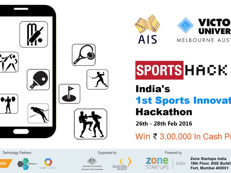 SportsHack - India's First Sports Hackathon in Mumbai from February 26-28, 2016