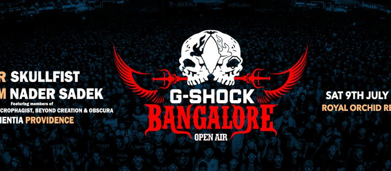 G-Shock Bangalore Open Air 2016 on July 9, 2016