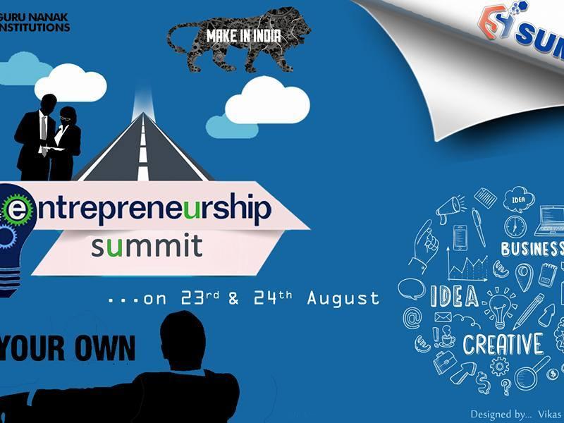 GNI E-SUMMIT - Entrepreneurship Summit in Hyderabad from August 23-24, 2016