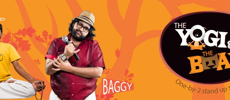 The Yogi and The Bear - ft. Alex, Baggy in Hyderabad on July 16, 2016