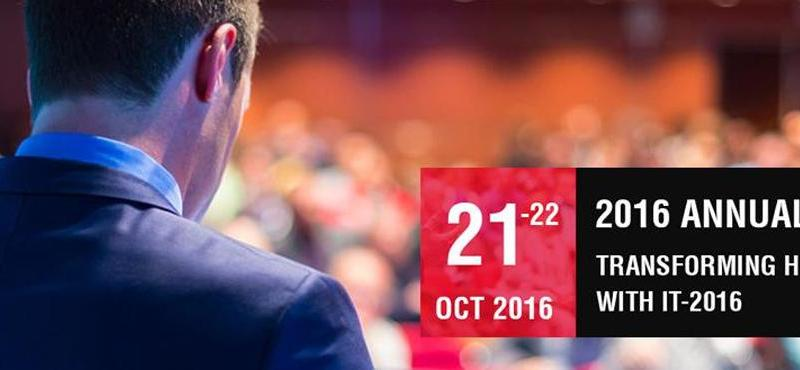 7th Transforming Healthcare with IT Conference in Chennai from October 21-22, 2016