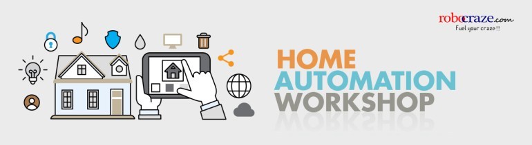 Home Automation Workshop in Hyderabad on October 3, 2016