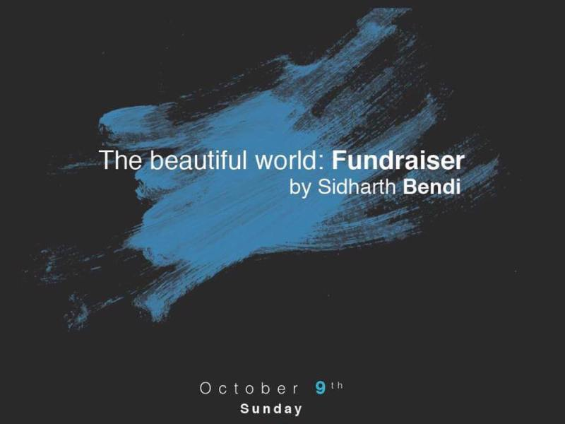 The Beautiful World: Fundraiser 2 in Hyderabad on October 9, 2016