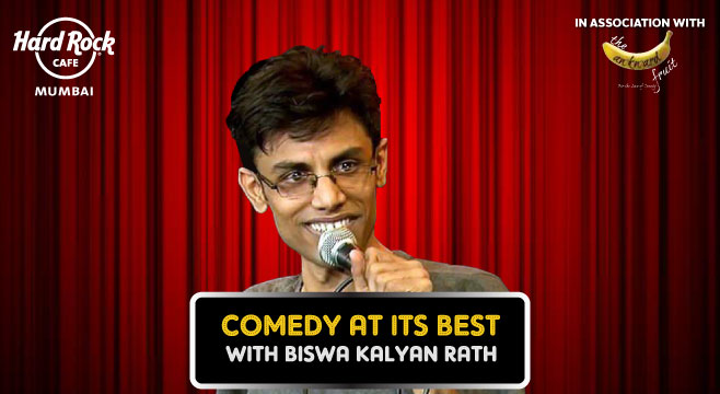 Comedy at its best feat. Biswa at Hard Rock Cafe, Mumbai on October 11, 2016