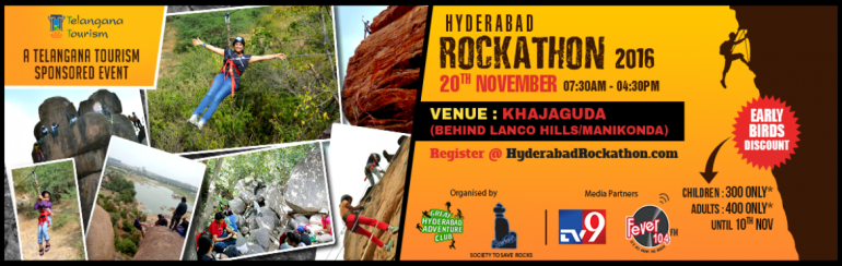 Hyderabad Rockathon 2016 on November 20, 2016