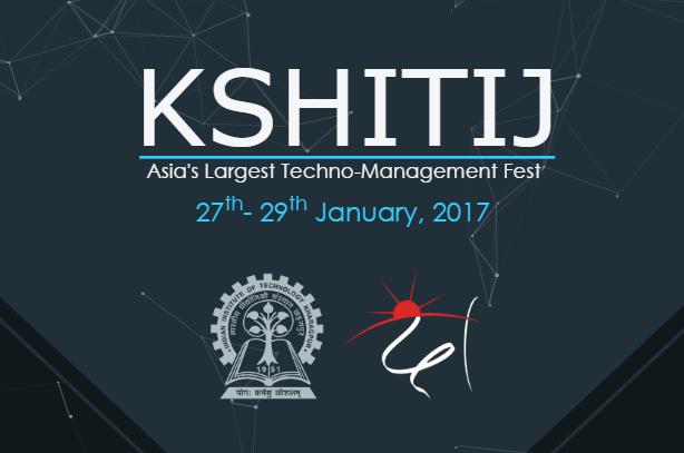 Kshitij - Techno-Management Fest in IIT Kharagpur from January 27-29, 2017