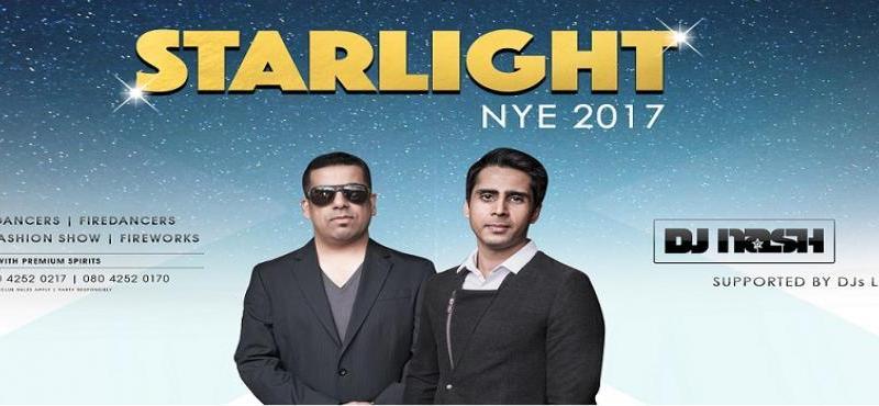 Starlight NYE 2017 Event in Bengaluru on December 31, 2016
