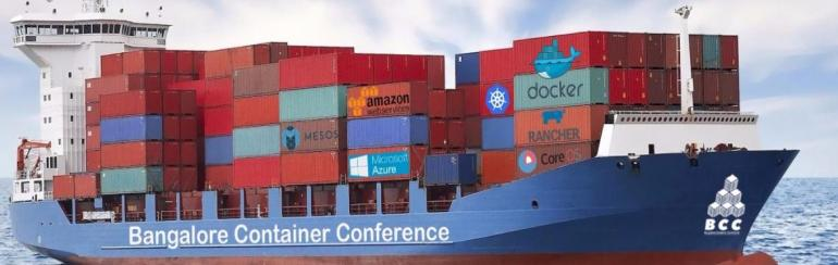 Bangalore Container Conference 2017 on April 7, 2017