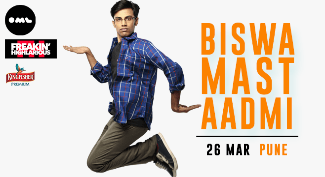 Biswa Mast Aadmi in Pune on March 26, 2017
