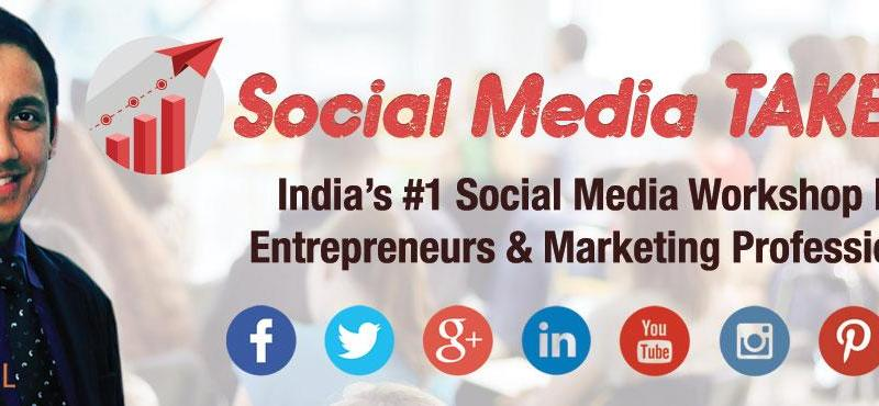 Social Media Takeoff Workshop in Bengaluru from March 3-5, 2017