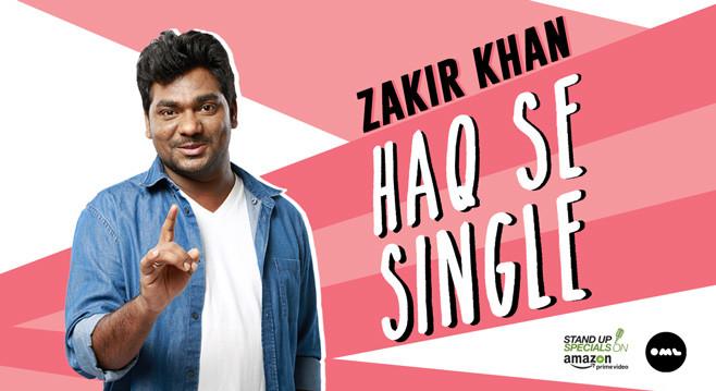 Zakir Khan - Haq Se Single in New Delhi on April 2, 2017