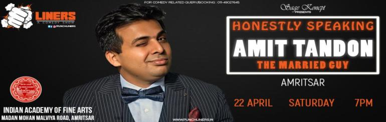 Honestly Speaking By Amit Tandon in Amritsar on April 22, 2017