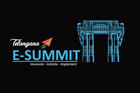 Telangana E-Summit in Hyderabad on April 8, 2017