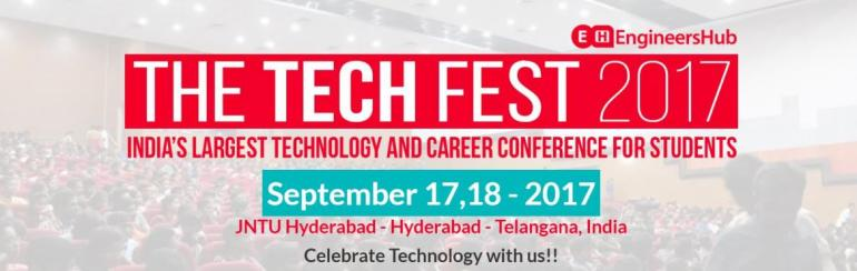 TheTechFest 2017 - Awaken the Future in Hyderabad on September 17-18, 2017