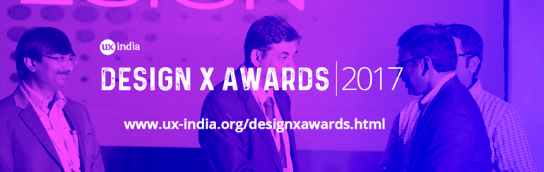 Design X Awards2017 in Bengaluru from November 3-4, 2017