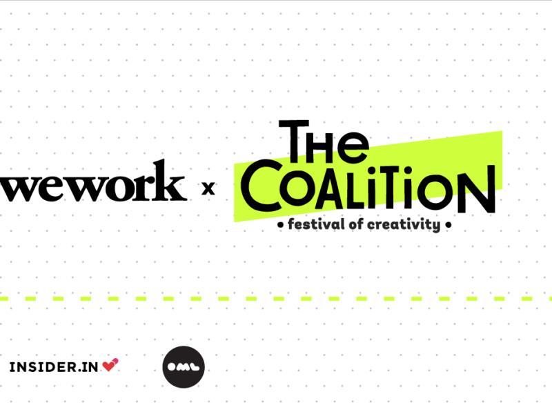 WeWork x The Coalition in Bengaluru from September 15-17, 2017