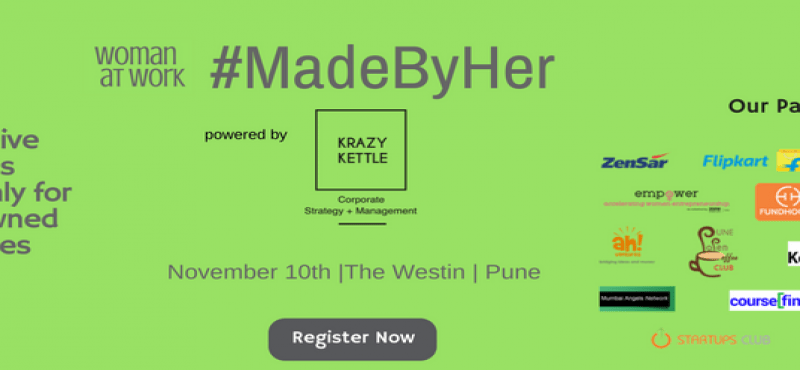 MadeByHer Conclave in Pune on November 10, 2017
