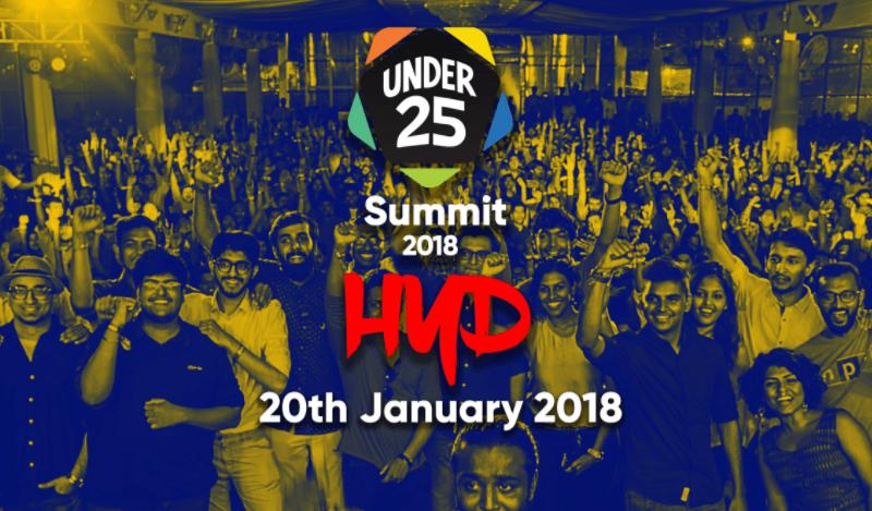 Under 25 Summit 2018 in Hyderabad on January 20, 2018