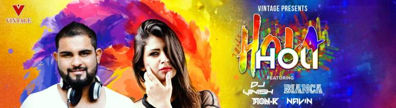 Hola Holi 2K18 in Hyderabad on March 2, 2018