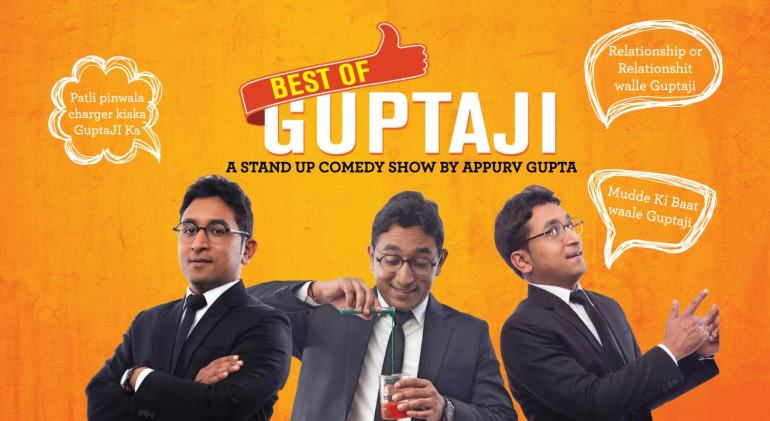 Best of Gupta Ji - Standup Show in Delhi on April 1, 2018